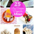 25 ice cream and popsicle ideas
