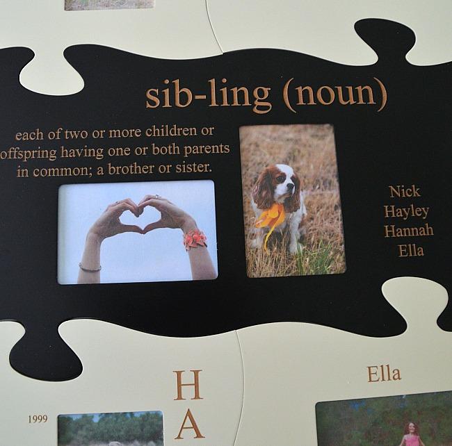 sibling puzzle of life wall art at tatertots and jello