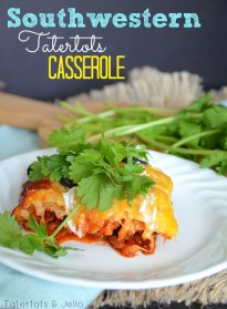 Southwestern Tatertots Casserole Recipe! -- Tatertots and Jello