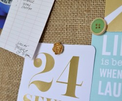 back to school diy burlap corboard and push pin tutorial