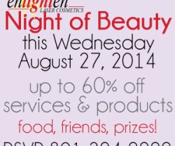 Beauty Night @ Enlighten: Discounts, Prizes, Fun!