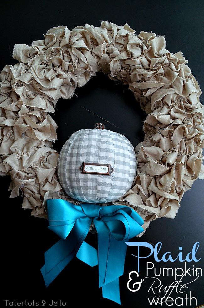 plaid-pumpkin-and-ruffle-wreath