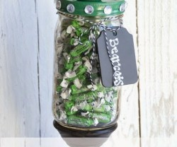 Teacher Gift Idea: School Spirit Candy Jar