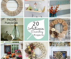20 autumn decorating projects