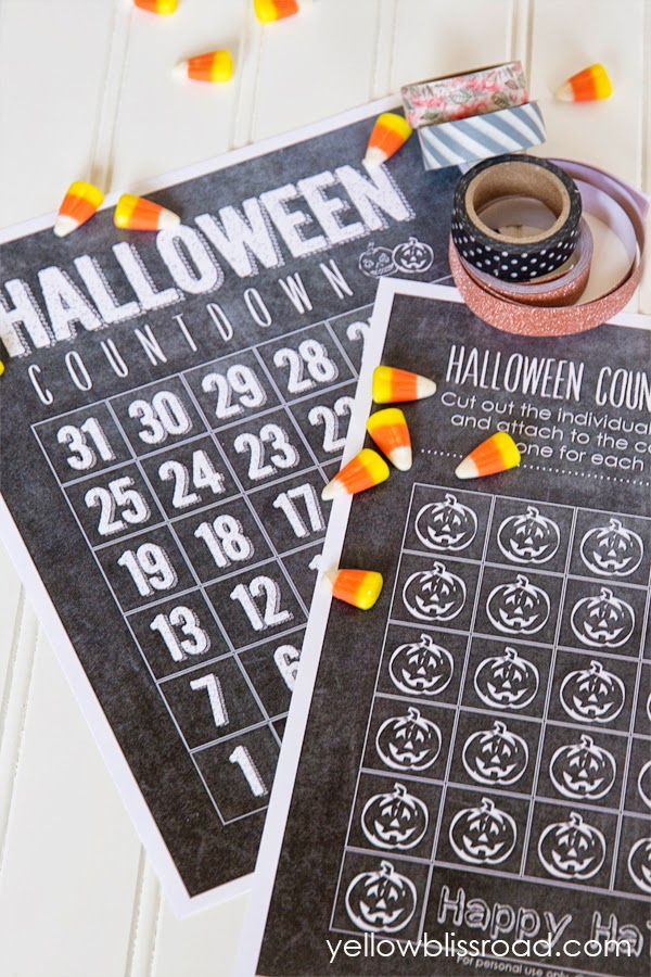 Halloween+Countdown+printable