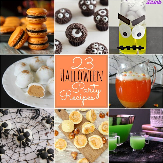 23 halloween party recipes