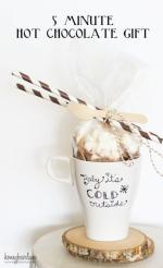 HAPPY Holidays: 5 Minute Hot Chocolate Gift
