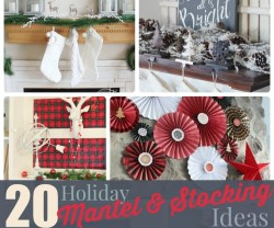20.holiday.mantel.stocking.ideas
