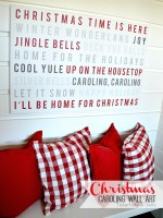 Christmas Carol Typography Art – Free Printables! {And $200 Shutterfly Giveaway}