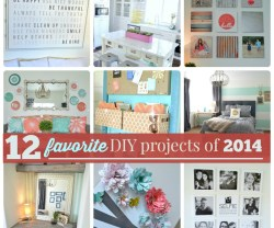 My 12 Favorite DIY Projects from 2014!