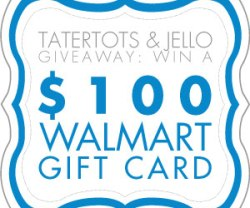 Link Party Palooza — and $100 Walmart Gift Card Giveaway!