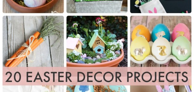 20.easter.decor.projects