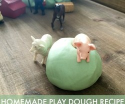 Play-Dough Recipe [With Essential Oils!]