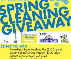 Spring Cleaning Giveaway! [$1500 Value!]