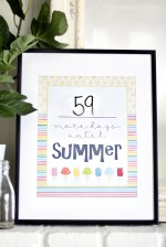 Free Countdown to Summer Printable