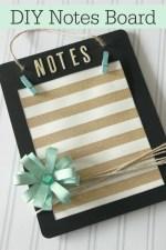 DIY Notes Board