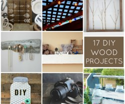 17 DIY Wood Projects