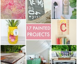 Great Ideas — 17 Painted Projects!