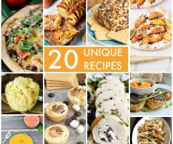 Great Ideas — 20 Unique Recipes!