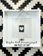5-Minute Graphic Wall Grouping – using Project Life cards!