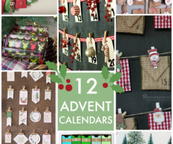 Great Ideas — 12 Advent Calendars!