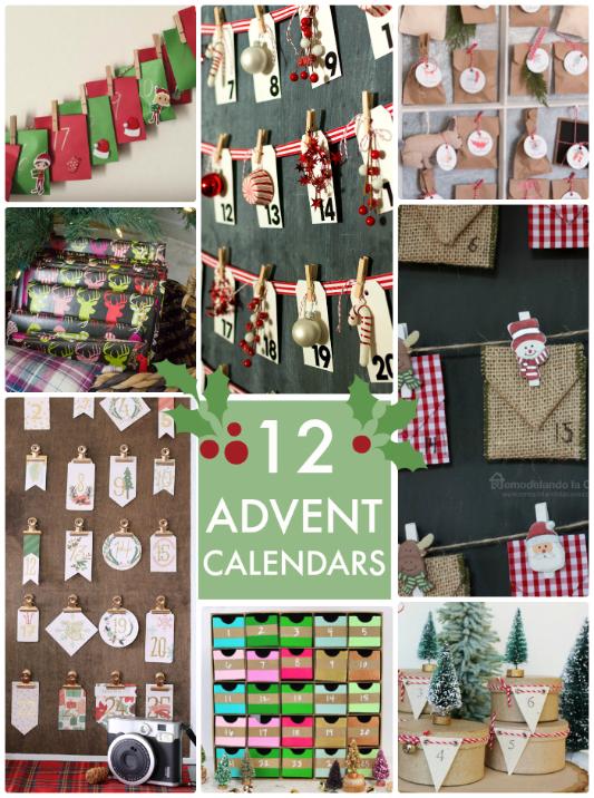 Great Calendar Ideas : Great ideas advent calendars tatertots and jello