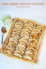 Happy Holidays: Easy Apple Apricot Crostata