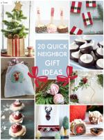 Great Ideas — 20 Quick & Easy Neighbor Gift Ideas!