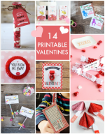 Great Ideas — 14 Printable Valentines!