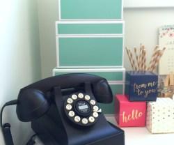 Getting Organized – My Bedroom Work Space