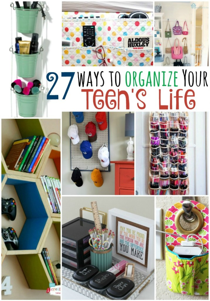 27 Ways To Organize Your Teen S Life Tatertots And Jello