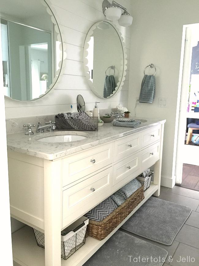 cottage girls modern bathroom