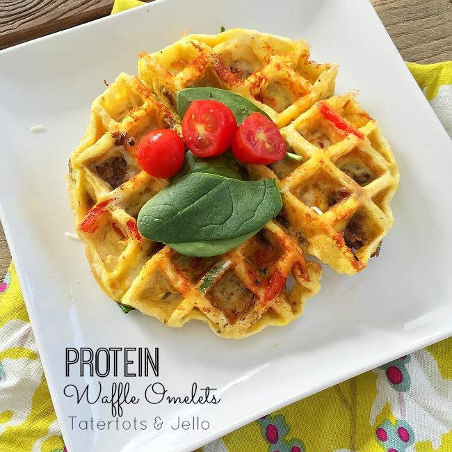 omelet waffle bar