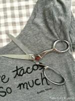 5-Minute T-Shirt Neckline Refashion