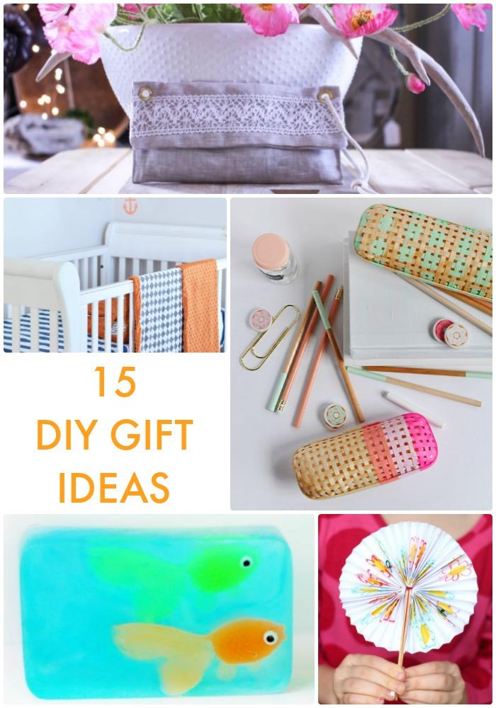 15 DIY Gift Ideas