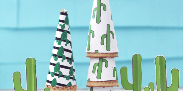 cactus party printables