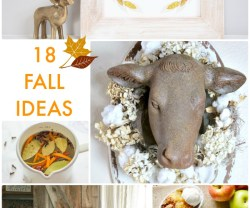 Great Ideas — 18 Fall Ideas!
