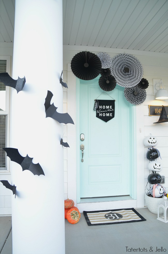 bats and witches halloween ideas