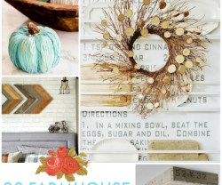 Great Ideas — 20 Farmhouse Fall Decor Projects!