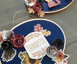 Thanksgiving Warm & Cozy Door Hanging Ideas