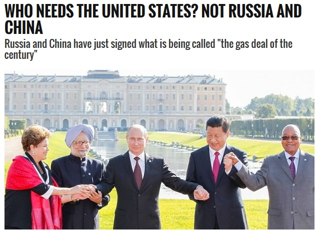 RUSSIA AND CHINA STRIKES THE FIRST BLOW TO PETRODOLLAR GOODBY TO THE US DOLLAR