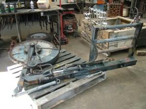 Refurbished Swing Arm Mower.