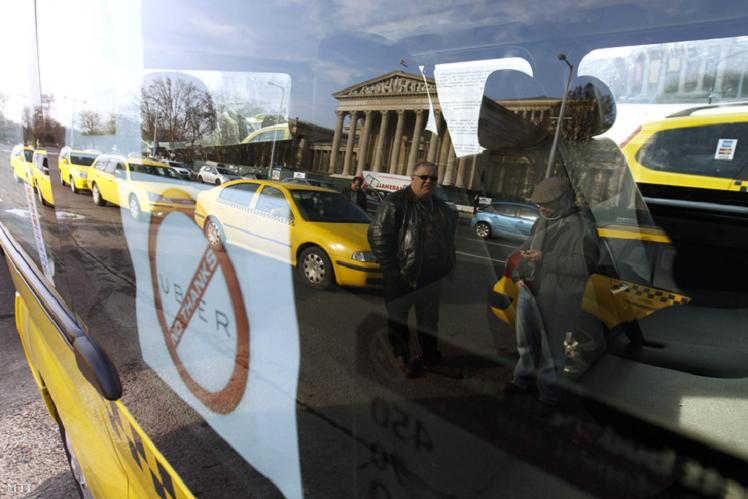 "HUNGARIAN PARLIAMENT PASSES LAW TO BLOCK ""ILLEGAL TAXI APP"" UBER"