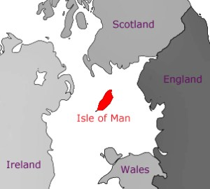 Isle of Man map