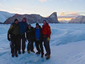 Our 2015 Greenland field team at the successful completion of our fieldwork.