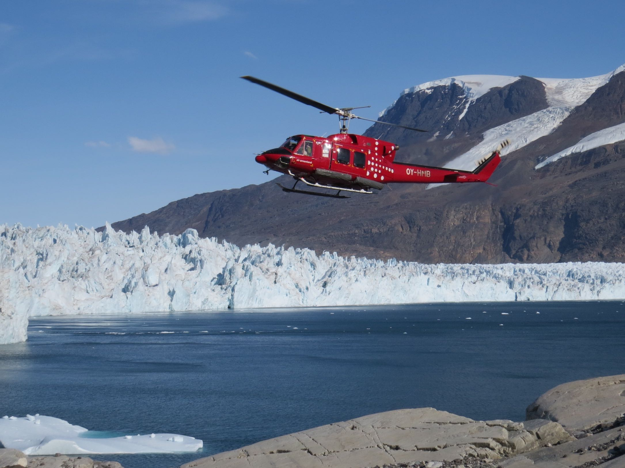 What's our fieldwork like in Greenland?  Watch and see