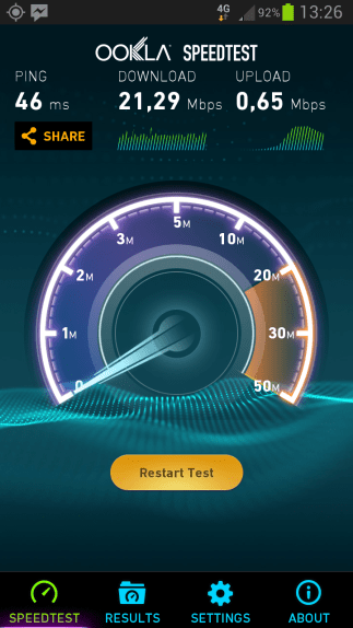 Telekom LTE Screenshot