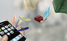 Picture of Books in Phone