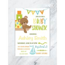 Small Crop Of Boy Baby Shower Invitations