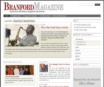 Tema: The Branford Magazine